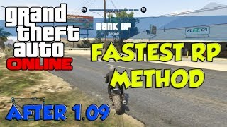 """NEW"" GTA 5 ONLINE: The FASTEST SOLO RP METHOD Level Up"