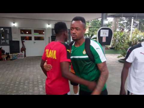 VIDEO: Ghana players in emotional AFCON send off for injured Baba Rahman