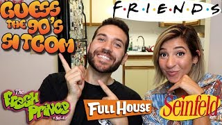 MODELS GUESS THE 90's SITCOM THEME CHALLENGE with Gabbie Hanna and Ugh It's Joe