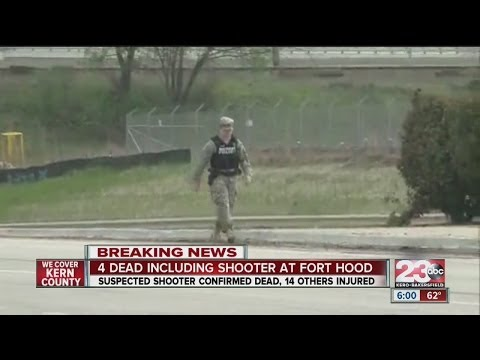 4 dead including shooter at Fort Hood