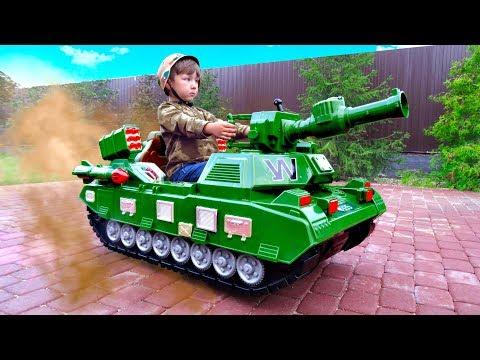 Senya Unboxing And Assembling - The Power Wheel Tank