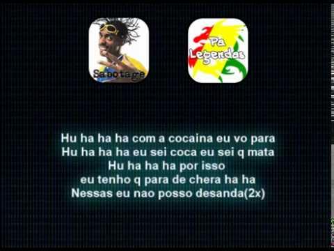 Sabotage - Cocaína (COM LETRA)