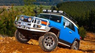 Toyota FJ Cruiser on the Rubicon Trail videos