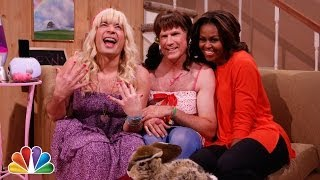 Ew! ft Michelle Obama, Will Ferrell and  Jimmy Fallon
