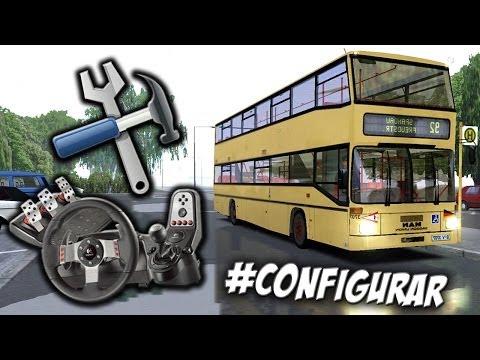 Como configurar volante/joystick Logitech G27 no jogo OMSI - Simulador de Ônibus