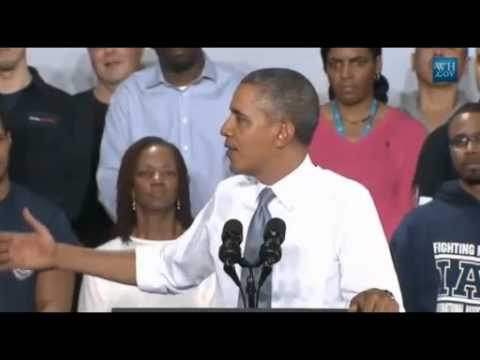 Obama Speaks At Wisc.GE Plant About Job Training