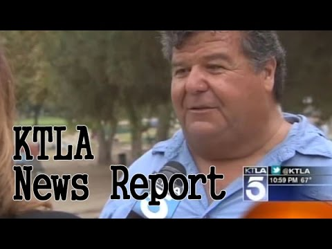 KTLA Report on Legg Lake Kids Fishing Event 2014
