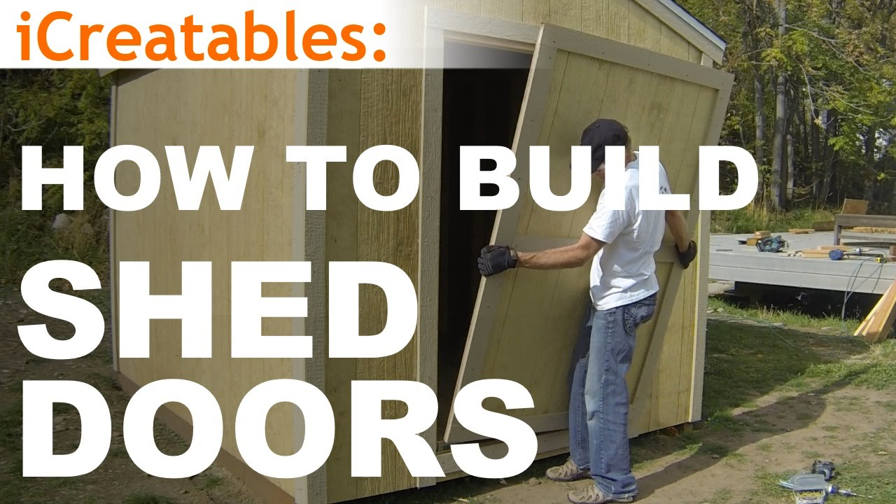 Build Shed Door