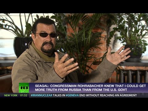 Steven Seagal: Obama regime very good at controlling media, propaganda