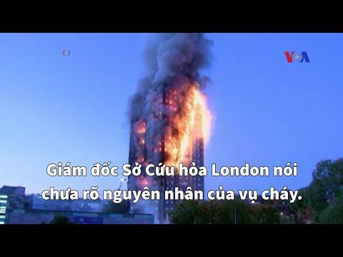 Cháy chung cư London làm chết người, mất tích
