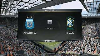 FIFA 15 Demo PC Argentina Vs Brasil Legendario 720p