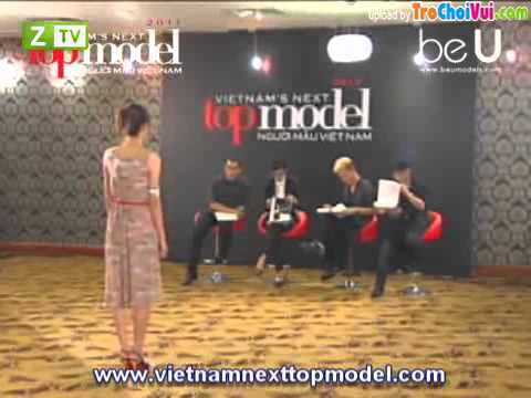 Vietnam's Next Top Model 2012 Tap 1 Ngay 19/8/2012 (P3/5)