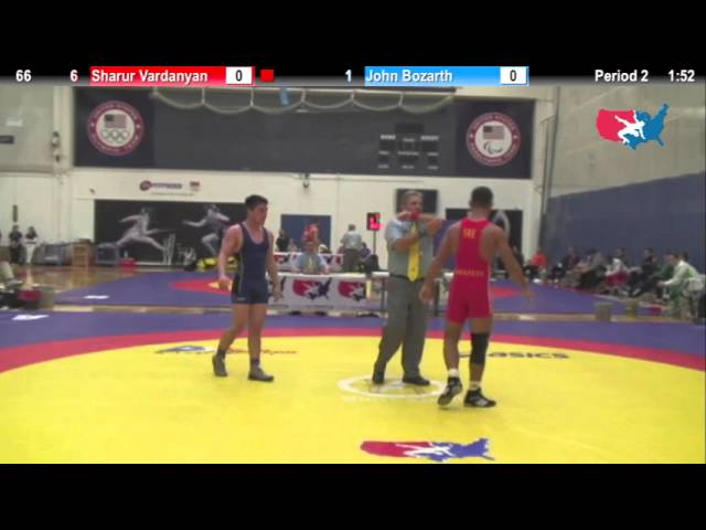 Dual #1   66 KG   Sharur Vardanyan SWE vs  John Bozarth USA #3
