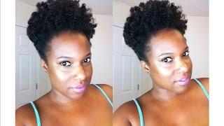 Natural Hair: Twist Out Using Design Essentials Curl