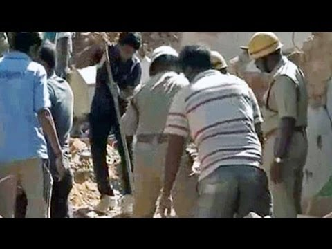 Bangalore building collapses reportedly after catching fire, 3 dead
