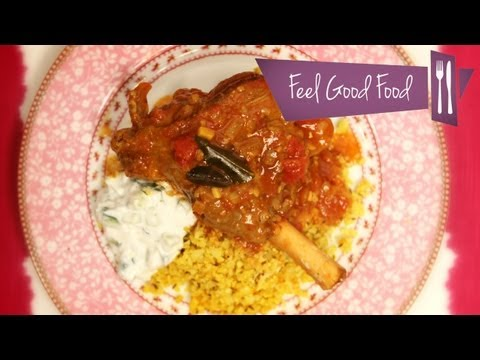 LOW CARB CURRIED LAMB SHANK