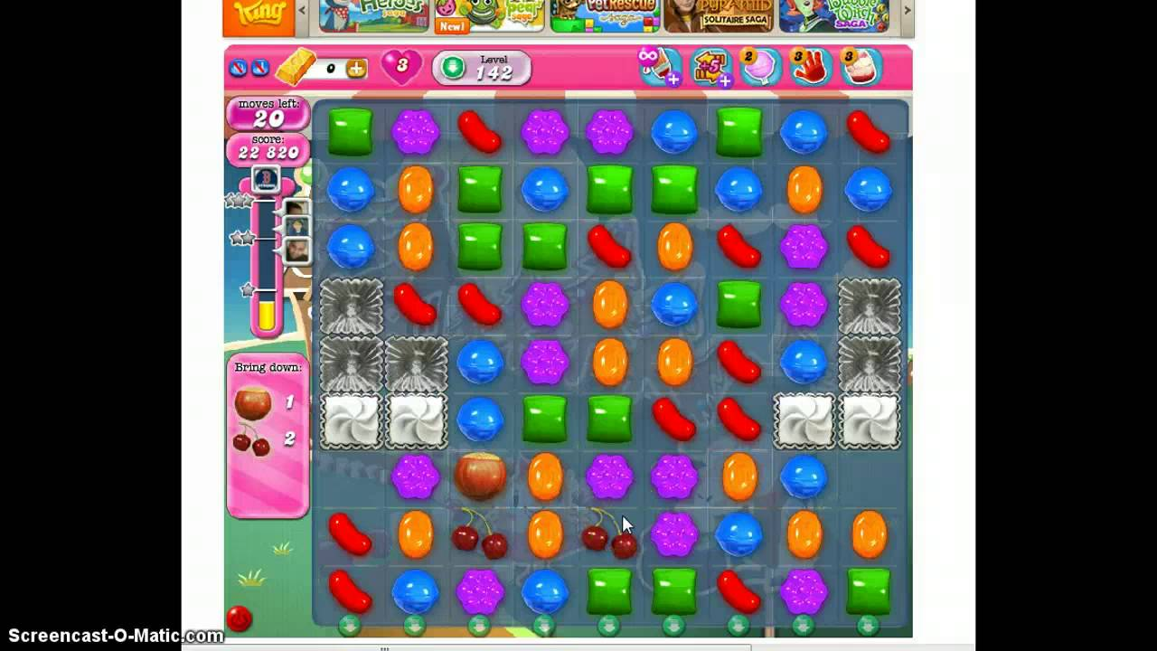 how to beat level 77 in candy crush saga 4