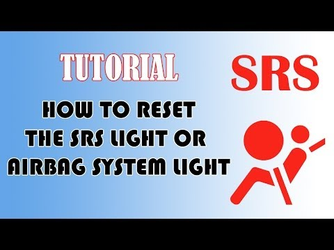 how to reset srs airbag indicator light youtube. Black Bedroom Furniture Sets. Home Design Ideas