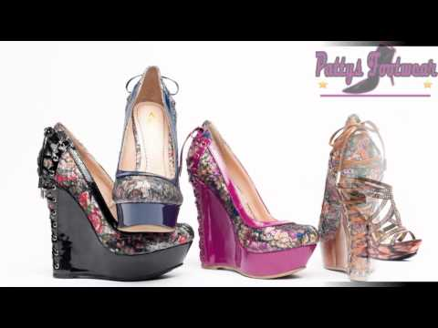 PLATFORM AND WEDGES FASION SHOES 2012