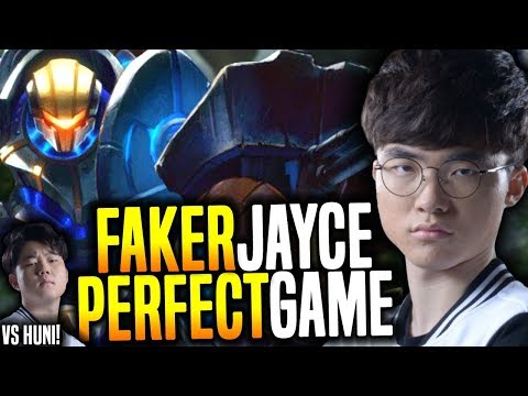 Faker Makes The Perfect Game With Jayce Coming Back to The Meta! - SKT T1 Faker SoloQ Playing Jayce!