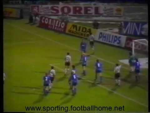 Sporting - 1 Malines - 0 UEFA 1990/1991 2 Leg