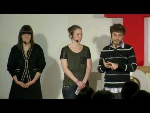 Teampreneurship: Iñigo Blanco, Garazi Konde & Sari Veripaa at TEDxBurgos