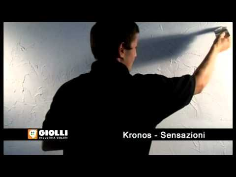 Giolli - tynk ozdobny Kronos i farba dekoracyjna Sensazioni