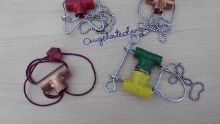 Juegos de ingenio con piezas de fontanería