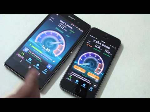 iPhone 5s vs Sony Xperia Z1 - Which is Faster ?