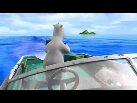Desenho animado engraçado - Berni Destino Ilha.