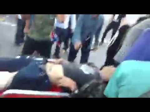 กำนันสุเทพ Thailand Protests Rampkamhaeng Student Protester Shot