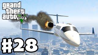 Grand Theft Auto 5 Gameplay Walkthrough Part 28 Plane
