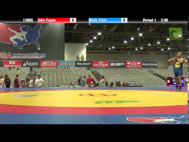 C Division 130KG - John Payne vs. Mark Trice