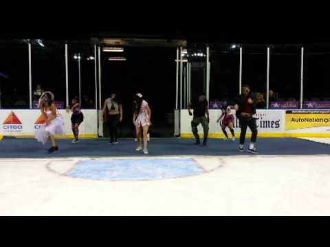 Crush Zombie Dance Crew - Corpus Christi Icerays Performance