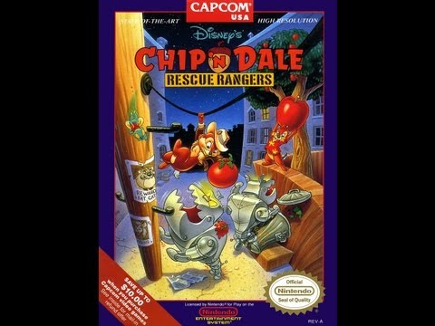 Chip 'n Dale Rescue Rangers - NES (Dale Gameplay) (Полное прохождение)