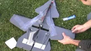 RC SU-47 CRASH!!!