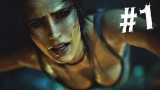 Tomb Raider Gameplay Walkthrough Part 1 Intro (2013