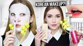 FULL FACE USING KOREAN MAKEUP | From Yesstyle!!