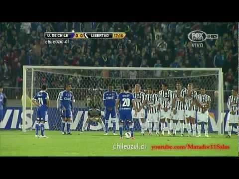 U de Chile 1 (5) - (3) 1 Libertad HD Copa Libertadores 2012 Relatos Trovador del Gol