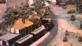 Historische Modelleisenbahn von Wilhelm Wendler 1975