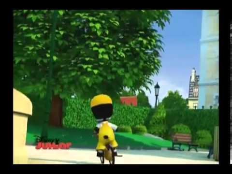 zou en español disney junior  (La bicicleta)