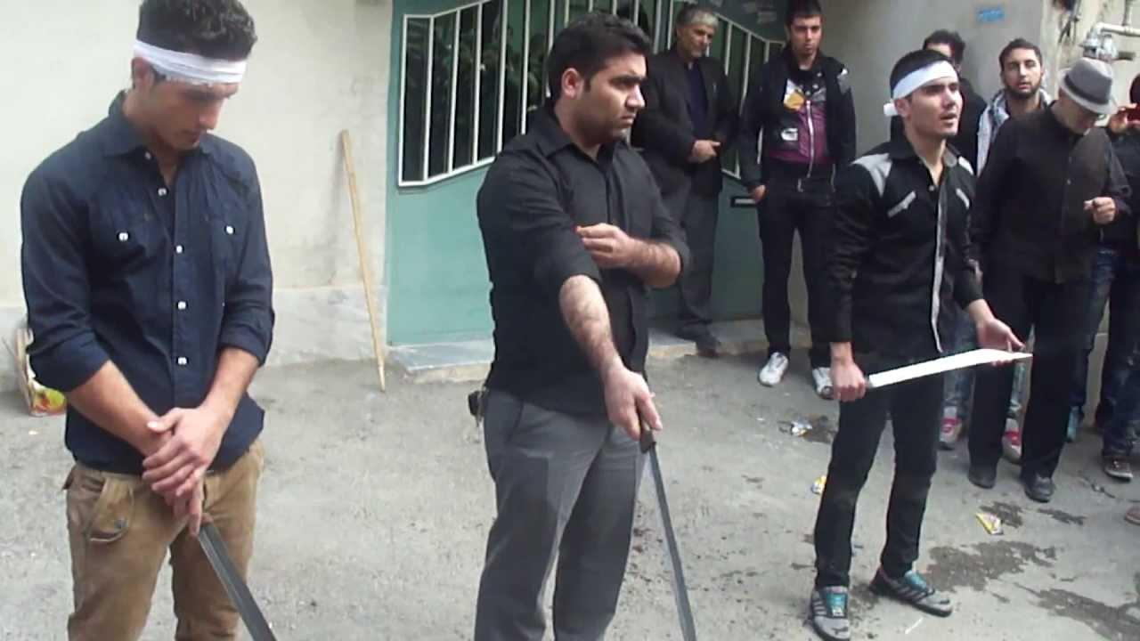 عکس قمه زنی تهران