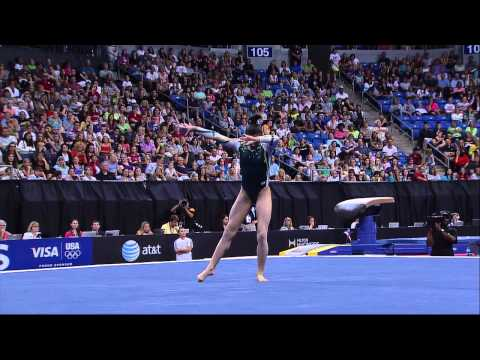 Kyla Ross - Floor - 2012 Visa Championships - Sr. Women - Day 1 -HQH_Ie_xIdc