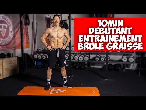 10 minutes routine sport débutant (morning routine)