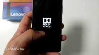 Video Lenovo K6 HQSH375Y5gw