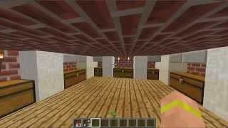 Minecraft Build's-Zombie Apocalypse Proof House.