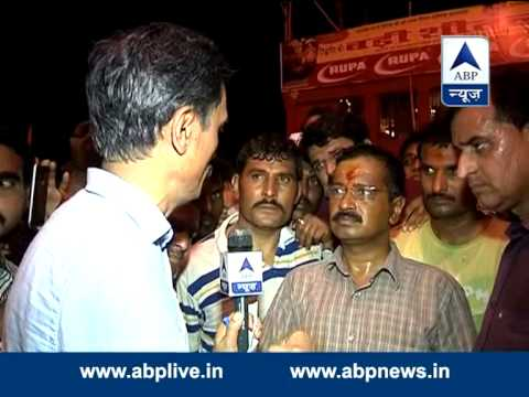Arvind Kejriwal talks to ABP News in Varanasi, hits out at BJP, EC