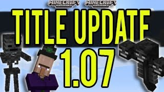 Minecraft (PS3 And Xbox) Title Update 1.07 (TU17