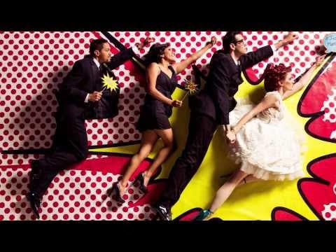 Kiss! Bang! Pow! : Comic Book Wedding Inspiration
