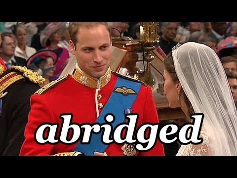 Nunta regală. Pe scurt. Cu umor!